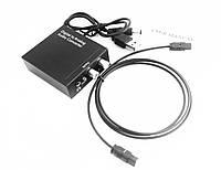 Аудио конвертер / декодер звука с цифрового digital оптического SPDIF Toslink в аналоговый 2.0 RCA тюльпаны стерео переходник 3.5 джек ( DAC 2.0 )