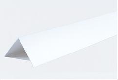 Декоративные углы ПВХ белые LinePlast 20х10
