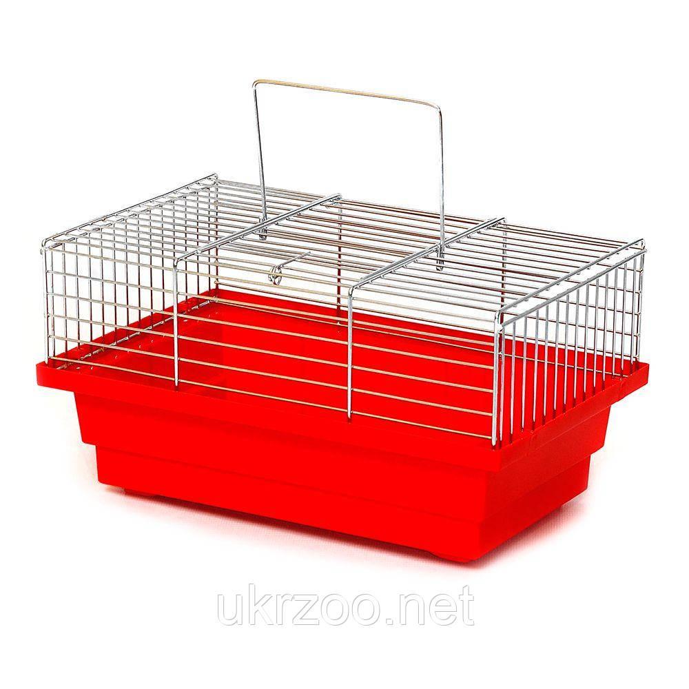 Клетка 28х18х15 см Грызун цинк для хомяка, джунгарика, грызуна
