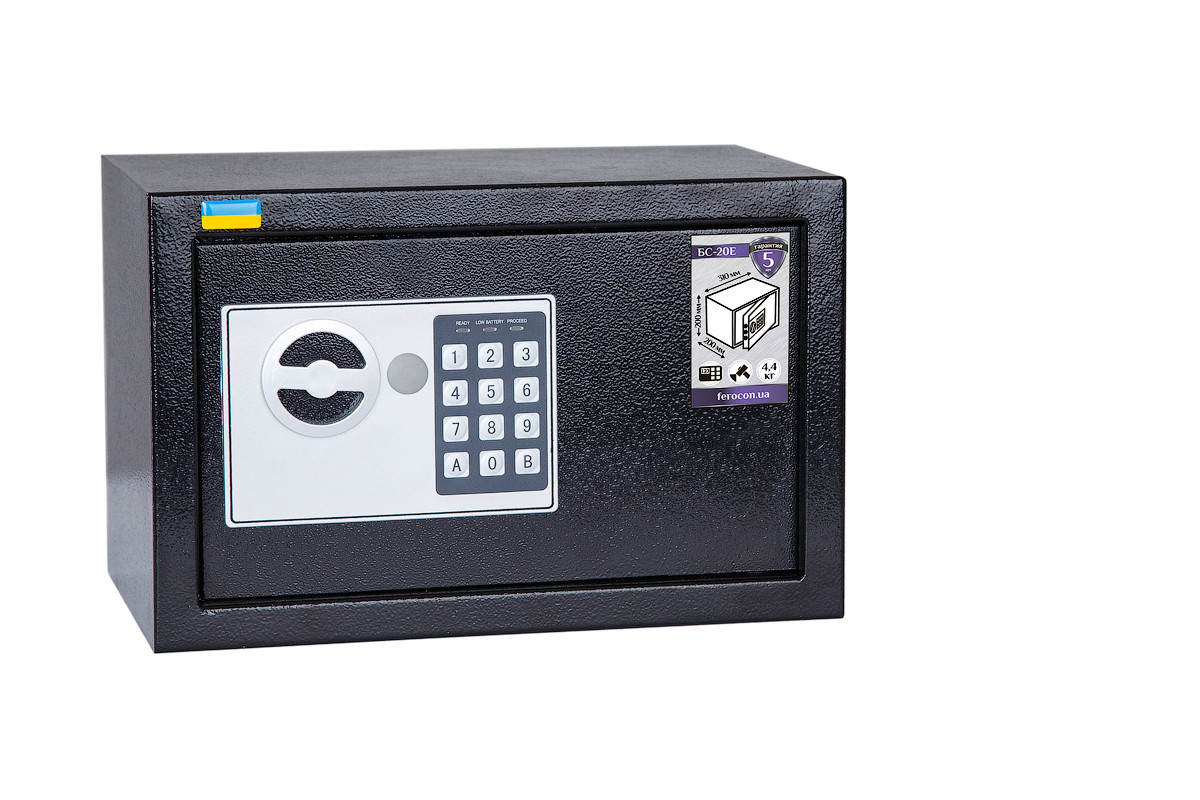 Мебельный сейф БС-20Е.9005