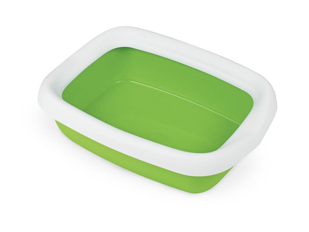 Туалет для кошек с рамкой BETA GREEN 43*31*12 см