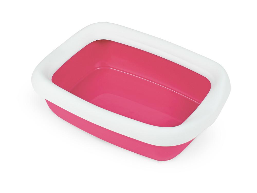Туалет для кошек с рамкой MPS BETA RED 43*31*12 см