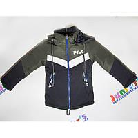 Детская курточка FILA с капюшоном