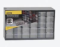 Органайзер вертикальный c 30-тью малыми выдвижными отделениями пластмассовый STANLEY 1-93-980, фото 1