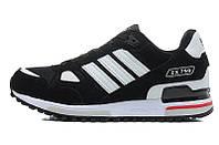 Кроссовки мужские Adidas ZX 750, кроссовки адидас zx 750 черные (Оригинал)