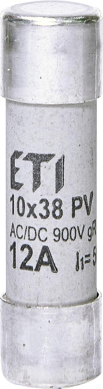 Предохранитель ETI CH 10x38 gR PV 12A 900V AC/DC 50/8kA 2625032 (для фотоэлектрических систем PV)