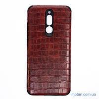 Чехол Epic Vivi Crocodile Xiaomi Redmi 8 темно-коричневый