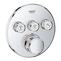 SmartControl Термостат для душу/ванни з 3 кнопками, накладна панель, фото 1