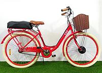 """Электровелосипед Dorozhnik Lux 26"""" 350W 36V Красный"""
