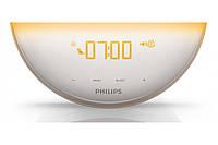 Настільний годинник з будильником Philips HF3520 (Б/У), фото 3