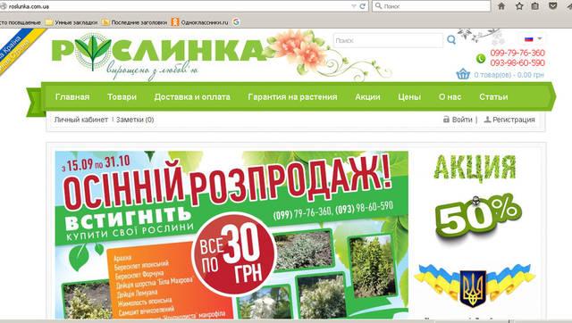 """Статьи и описания товаров для интернет-магазина """"Рослынка"""" 9"""