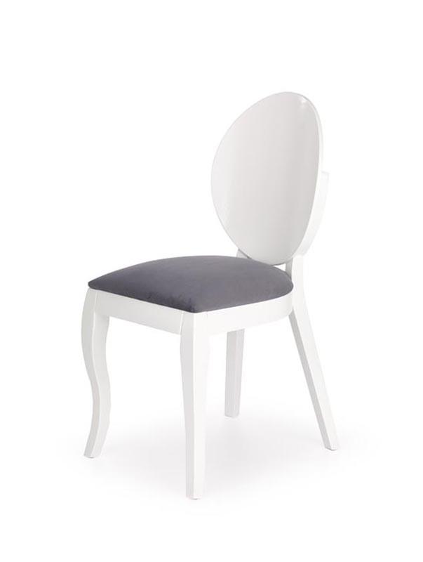 Стілець VERDI білий/сірий (Halmar)