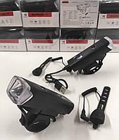 Фара передняя HJ-047-XPG, аккум., ЗУ micro USB, датчик света