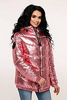 Блестящая весенняя женская куртка. Разный цвет!