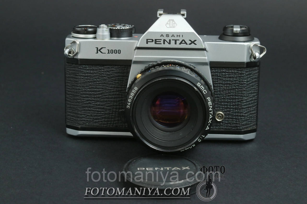 Pentax K1000 kit SMC Pentax-A 50mm f2.0