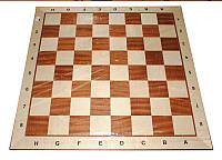 Шахматная доска большая деревянная