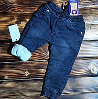 Зимние джинсы детские