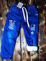 Зимние джинсы на девочку