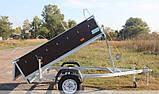 Прицеп - самосвал бортовой Кияшко 23PB1103FS, фото 5