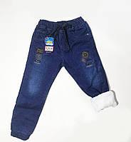 Теплые джинсы для мальчика, фото 1