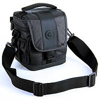 Сумка для фото и видео камеры Continent Сумка для фото и видео камеры FF-01 Black черная с плечевым ремнем