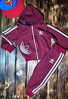 Спортивный костюмчик Adidas для самых маленьких красный