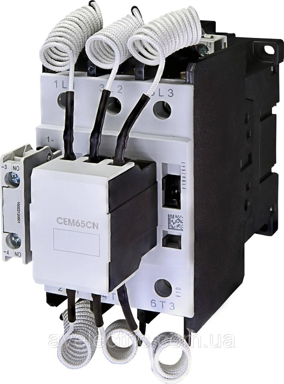 Контактор для конденсаторных батарей CEM65CN ETI, 4649130