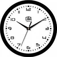 Часы настенные UTA Smart 265 х 265 х 35 мм с чёрным ободом