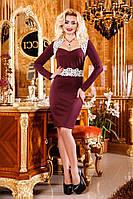 Женское платье из трикотажа