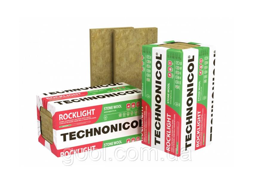 Утеплитель базальтовый Технониколь Роклайт 1200х600х100мм в упаковке 2,88 м2