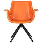 Кресло Vert (Верт) orange leather, оранжевый, Бесплатная доставка, фото 2