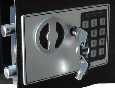 Мебельный сейф БС-25Д.9005