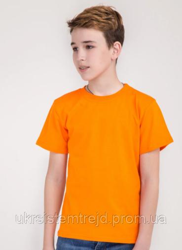Футболка детская (оранжевая)