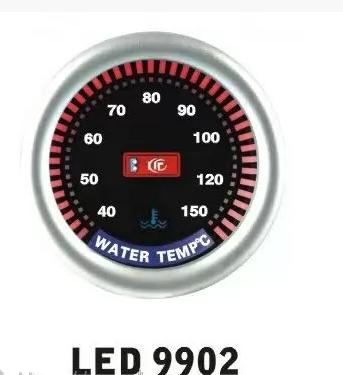 Дополнительный прибор Ket Gauge LED 9902 температура воды. Дополнительный прибор