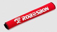 Неопреновая защита пера велосипеда от цепи (9 брендов / 3 цвета) ROBESBON КРАСНЫЙ
