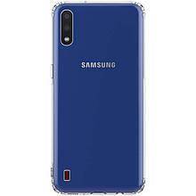 TPU чехол GETMAN Transparent 1,0 mm для Samsung Galaxy A01