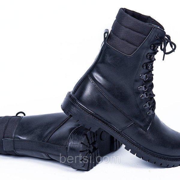 Берцы Зимние LEOPARD-2 Black
