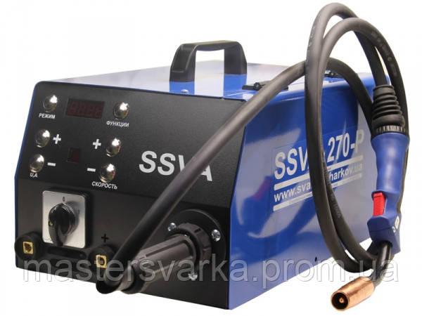 Сварочный полуавтомат SSVA-270-P на 380 Вольт 4-х роликовый венгерский подающий