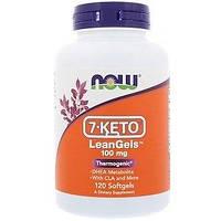 7-Кето NOW 7-KETO LeanGels 100 mg (120 softgels)