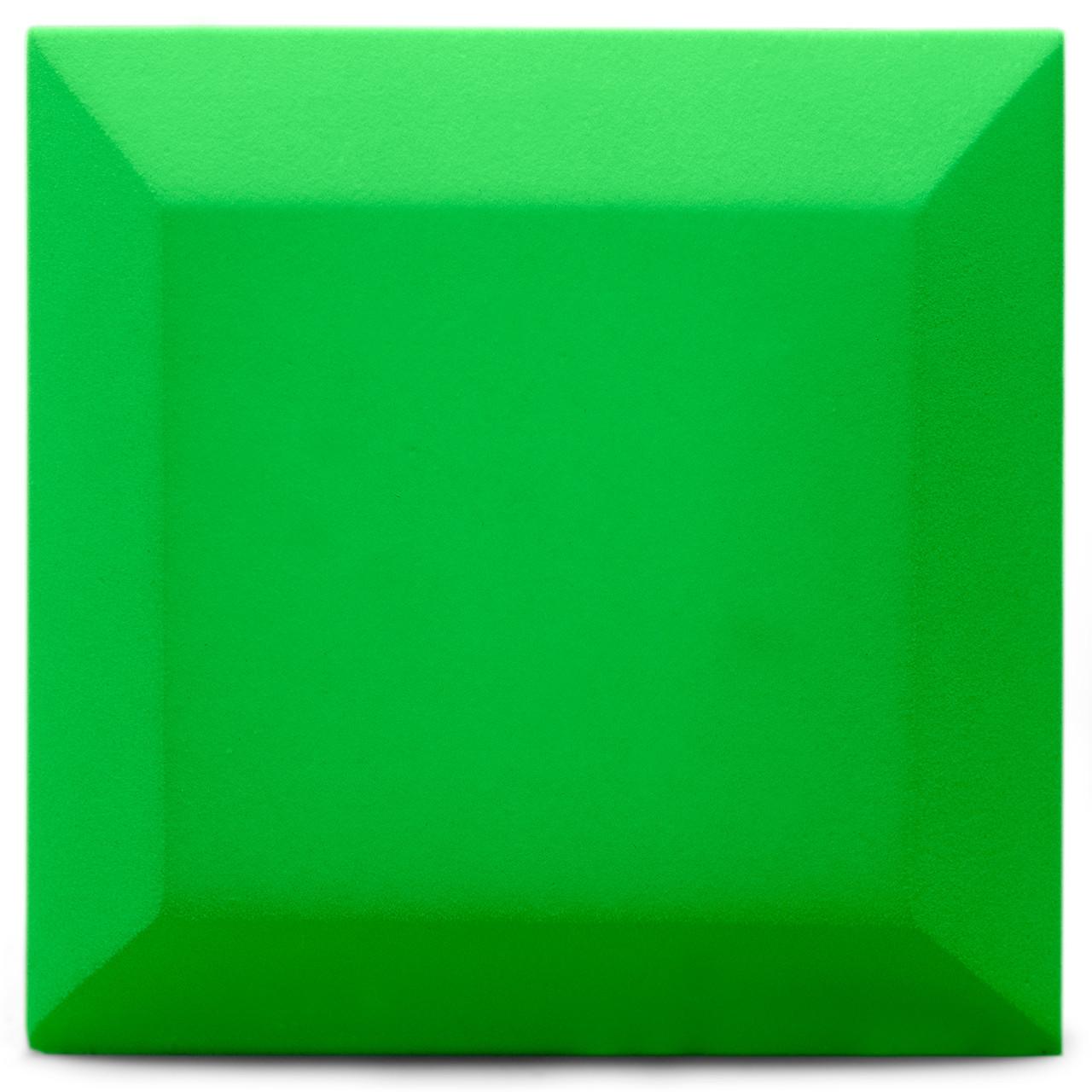 Оксамитова акустична панель з акустичного поролону Ecosound Velvet Pistacho 25х25см 50мм Колір бежевий