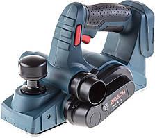 Аккумуляторный рубанок Bosch GHO 18 V-LI Professional (18 В, 82 мм) (06015A0300)