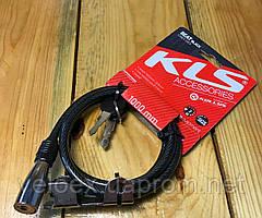 Велозамок KLS BEAT черный