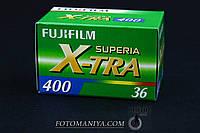 Фотоплівка негативна, кольорова Fujifilm Superia Extra 400  135-36 фотоплёнка