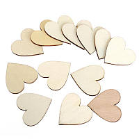 Сердечки декор, упаковка 50 шт., фото 1