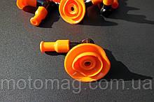 Насвечник 2т з гумкою помаранчевий