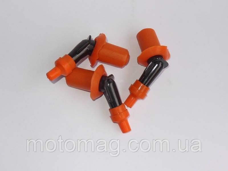 Насвечник 4т с резинкой оранжевый