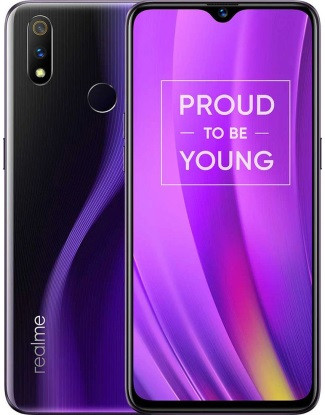 "Смартфон Oppo Realme 3 Pro 6/128Gb Purple global, 16+5/25Мп, 2sim, 6.3"" IPS, 4045mAh, 4G (LTE), 8 ядер"