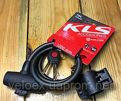 Велозамок KLS COIL 10х1200 мм