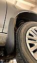 Брызговики MGC Volkswagen Jetta Америка универсал Variant 2008-2013 г.в. комплект 4 шт 5C6075111, 1K9075101, фото 4