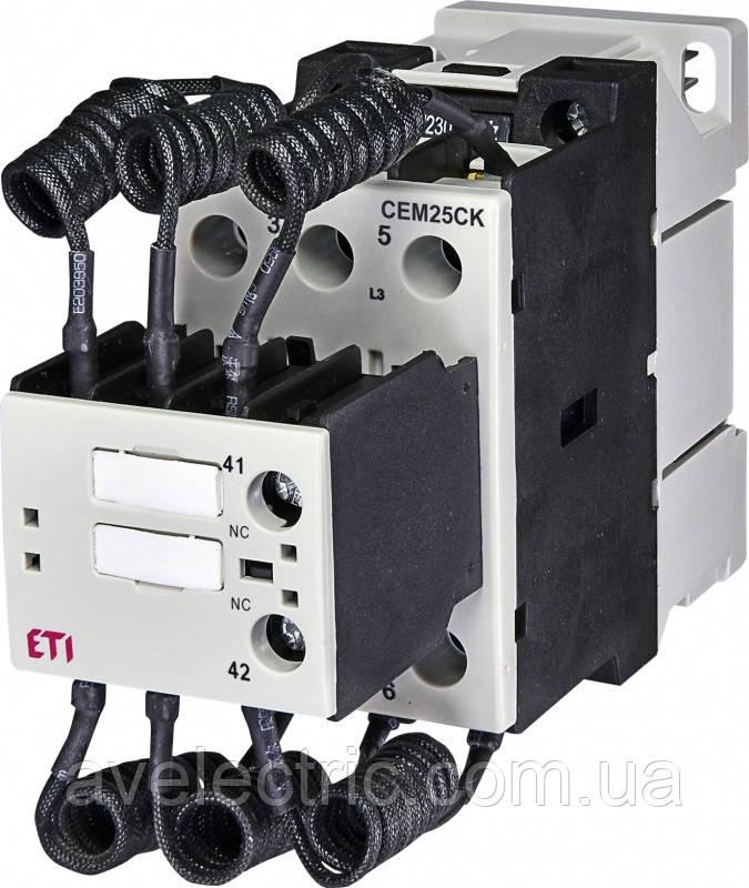 Контактор для конденсаторних батарей CEM 25CK.01 ETI, 4643810